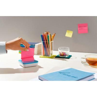 Post-it Haftnotizen Super Sticky Z-Notes, 76 x 76 mm, farbig (0051141401508)
