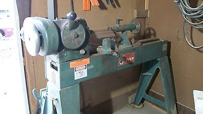 "Oliver Wood Lathe with Banjo Tool Rest 6"" Face Plate 8"" Face Plate"