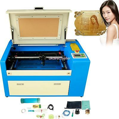 50W Co2 Usb Laser Engraving Cutting Machine Engraver Cutter Woodworking/crafts A