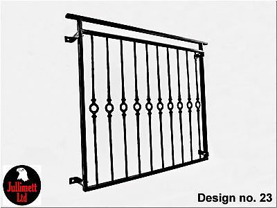 Juliet balcony,metal balustrade,wrought iron raili,design 23 of 23 Jullimett