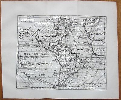 Bion: Detailed Map of America - 1751
