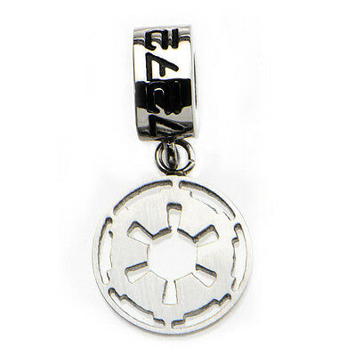 NEW Star Wars Imperial Symbol Bracelet / Necklace Dangle Charm