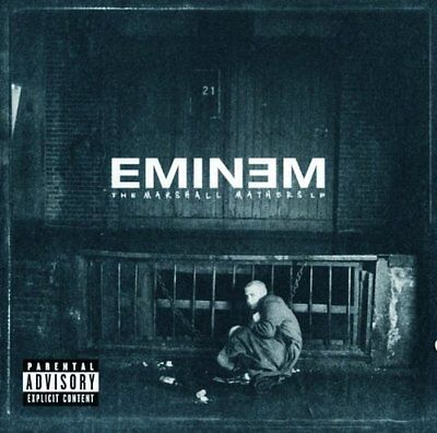 The Marshall Mathers LP - Eminem - Audio CD (N3A)