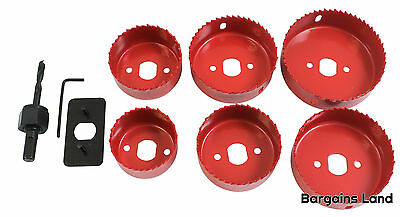 ROLSON Hole Saw Set Cutter Down Light Holesaw Installation 50 60 65 72 75 85mm