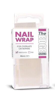 The Edge Nail Fibreglass Strip 46cm Non Fraying Mesh Natural Nails