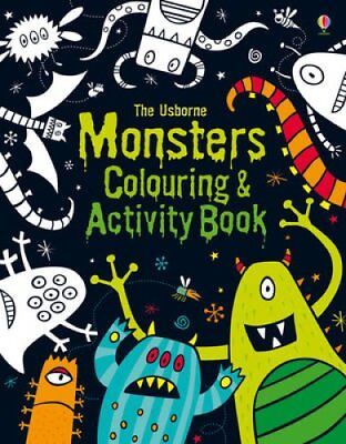 Monsters Colouring and Activity Book by Kirsteen Robson (Paperback, 2013)