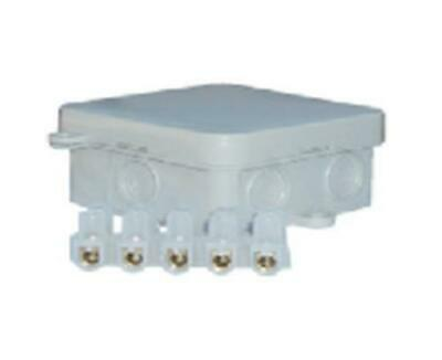 Pack of 10 Waterproof Junction Boxes IP44 65X65X30mm Outdoor Connection Box