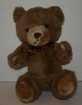 "Princess Soft Toys Brown Bear 12"" Articulated Soft Quality Light Brown Sits"