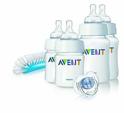 Newborn Starter Kit SCD271/00 for Baby by Philips Avent Feeding Bottles BPA Free