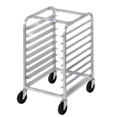 Channel Bun Pan Rack, Aluminum (Front Loading), Under Counter / Half Height