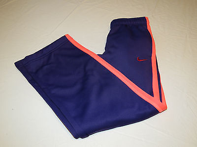 Nike Therma Fit traing girls S 546097 548 purple sweat pants active NWT^^
