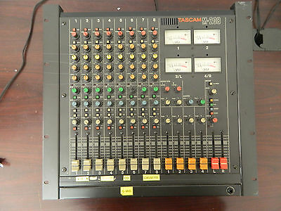 Vintage Tascam M-208 Recording Analog Mixing Console