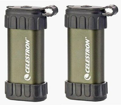 2 NEW Celestron Thermotrek Rechargeable Hand Warmers! Best Price AND Service!