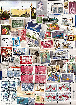 vintage MINT UNUSED FULL GUM CANADA Canadian postage stamps lot A14  MNH