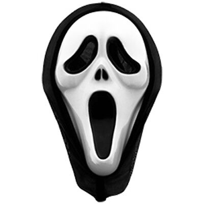 Smartfox Scream Maske - Karneval Sylvester Verkleidung Maskierung Scary Movie