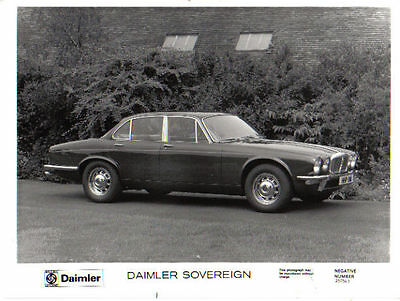 Daimler Sovereign SII original b&w Press Photograph No. 250543