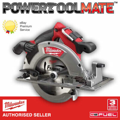 Milwaukee M18CCS66-0 18v Fuel 66mm Brushless Circular Saw - Naked - Body Only