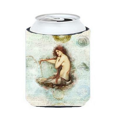 Carolines Treasures SB3047CC Mermaids And Mermen Can Or Bottle Hugger
