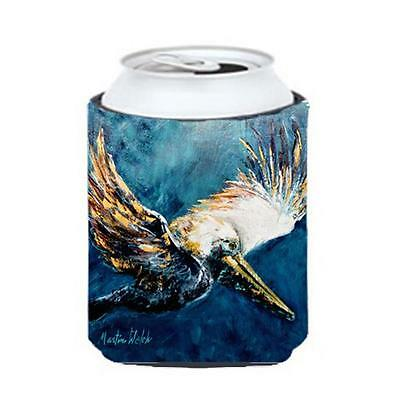 Carolines Treasures MW1135CC Bird Pelican Go For It Can Or Bottle Hugger