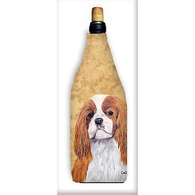 Carolines Treasures SC9118WINEBOTTLE Cavalier Spaniel Wine Bottle Hugger
