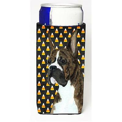 Boxer Candy Corn Halloween Portrait Michelob Ultra s For Slim Cans 12 oz.