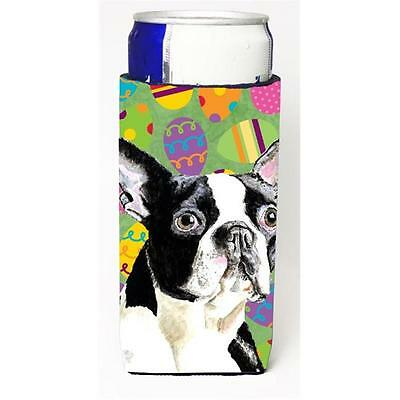 Boston Terrier Easter Eggtravaganza Michelob Ultra s For Slim Cans 12 oz.