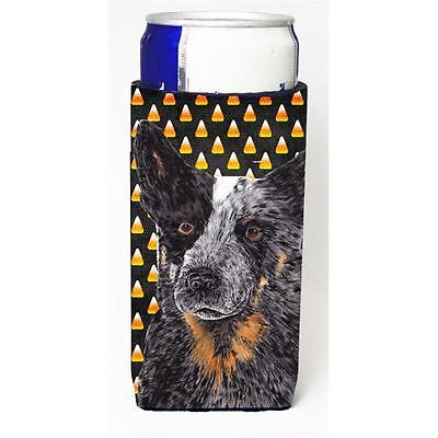 Australian Cattle Dog Candy Corn Halloween Portrait Michelob Ultra s For Slim...