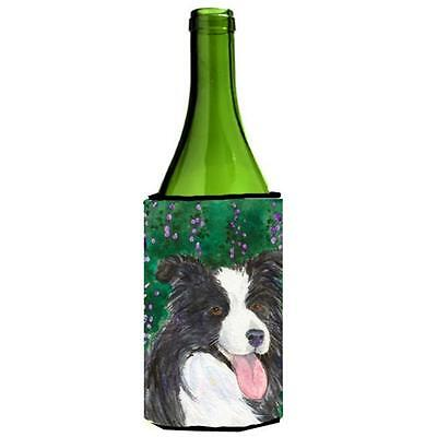 Carolines Treasures SS1053LITERK Border Collie Wine Bottle Hugger 24 oz.