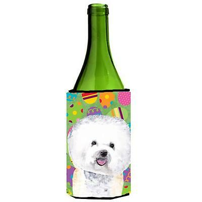 Carolines Treasures Bichon Frise Easter Eggtravaganza Wine Bottle Hugger 24 oz.