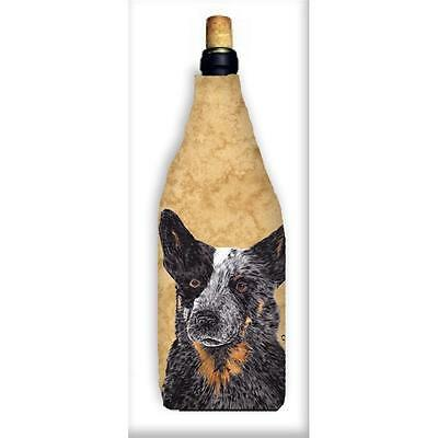 Carolines Treasures SC9141WINEBOTTLE Australian Cattle Dog Wine Bottle Hugger