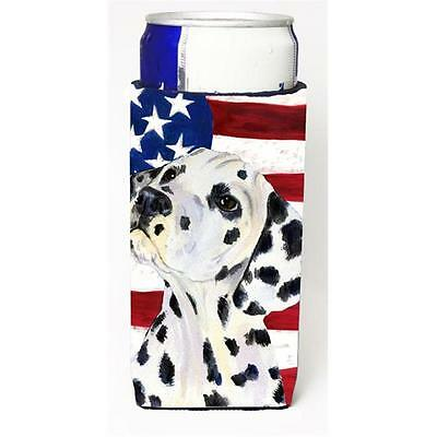 Usa American Flag With Dalmatian Michelob Ultra s For Slim Cans 12 oz.