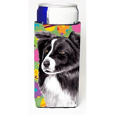 Border Collie Easter Eggtravaganza Michelob Ultra s For Slim Cans 12 oz.