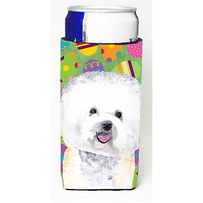 Bichon Frise Easter Eggtravaganza Michelob Ultra s For Slim Cans 12 oz.