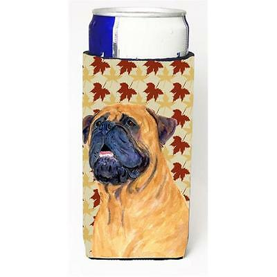Mastiff Fall Leaves Portrait Michelob Ultra s For Slim Cans 12 oz.