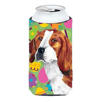Carolines Treasures Beagle Easter Eggtravaganza Tall Boy Hugger 22 To 24 oz.