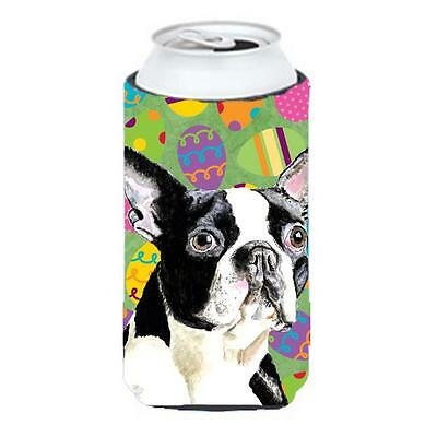 Boston Terrier Easter Eggtravaganza Tall Boy Hugger 22 To 24 oz.