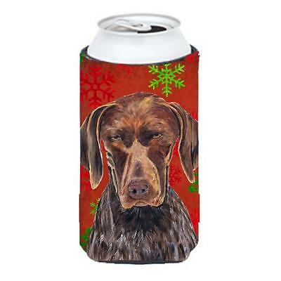 German Shorthaired Pointer Holiday Christmas Tall Boy Hugger 22 To 24 oz.
