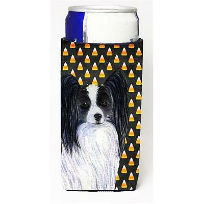 Papillon Candy Corn Halloween Portrait Michelob Ultra s For Slim Cans 12 oz.
