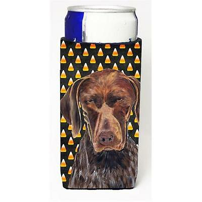 German Shorthaired Pointer Candy Corn Halloween Portrait Michelob Ultra s For...