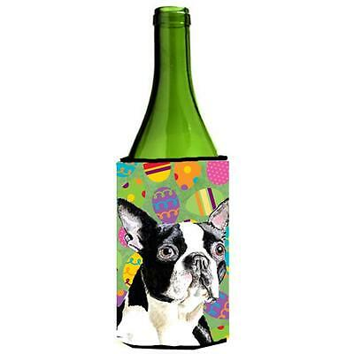 Boston Terrier Easter Eggtravaganza Wine Bottle Hugger 24 oz.