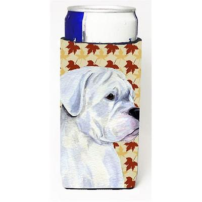 Boxer White Fall Leaves Portrait Michelob Ultra bottle sleeves For Slim Cans ...