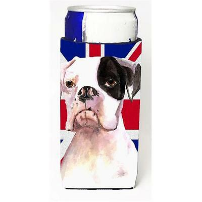 Boxer Cooper With English Union Jack British Flag Michelob Ultra bottle sleev...