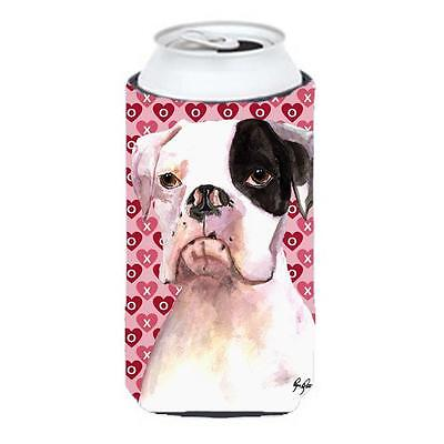 Cooper Love and Hearts Boxer Tall Boy bottle sleeve Hugger 22 to 24 oz.