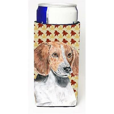 English Foxhound Fall Leaves Michelob Ultra bottle sleeves for slim cans 12 oz.