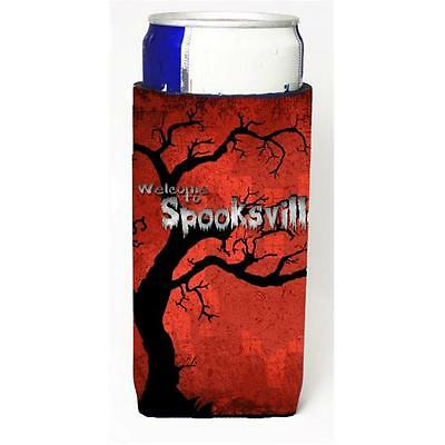Welcome To Spooksville Halloween Michelob Ultra bottle sleeves For Slim Cans ... • AUD 47.47