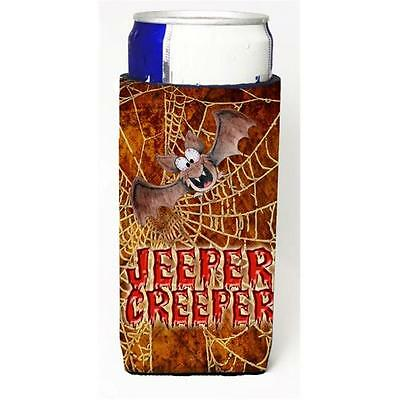 Jeepers Creepers With Bat And Spider Web Halloween Michelob Ultra bottle slee...