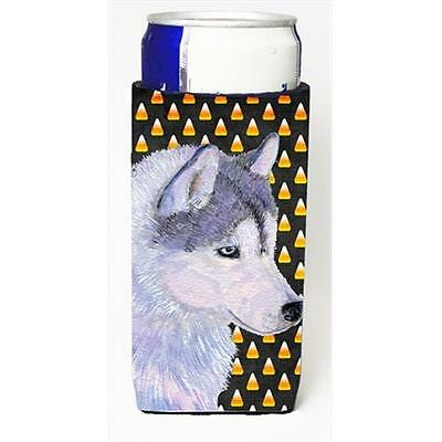 Siberian Husky Candy Corn Halloween Portrait Michelob Ultra bottle sleeves Fo...