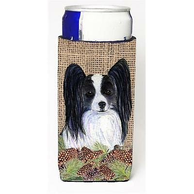 Papillon on Faux Burlap with Pine Cones Michelob Ultra bottle sleeves for sli... • AUD 47.47