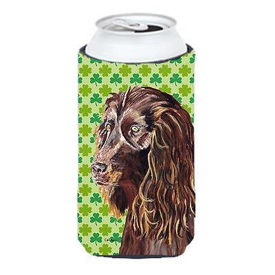 Boykin Spaniel St Patricks Irish Tall Boy bottle sleeve Hugger 22 To 24 oz. • AUD 47.47