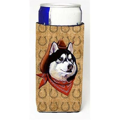 Siberian Husky Dog Country Lucky Horseshoe Michelob Ultra bottle sleeves For ...